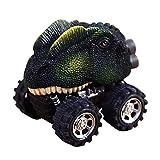 Puzzle Spielzeug Ziehen Sie Auto Mini Spielzeug Modellauto zurück, Zolimx Kinder Geschenk Spielzeug Dinosaurier Modell zurück vom Auto (D)