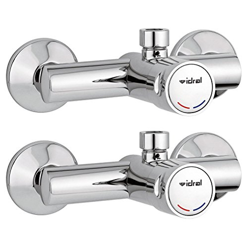 2x-bath-time-controlled-36266000-self-closing-for-cold-hot-water-commercial-mixer-tap