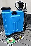 Gartenspritze mit ALU-Lanze und viel Zubehör Drucksprühgerät 18L Rückenspritze Düngerspritze