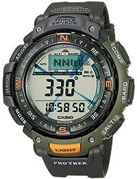 4577ec2045d7 CASIO Sport Pro Trek PRG-40-3VER - Reloj de Cuarzo con Correa de Resina  para Hombre (con multifunción