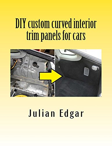 DIY custom curved interior trim panels for cars: How to quickly and easily make compound-curved custom trim panels. Make your own interior trunk ... and kick panels for cars, trucks and RVs.