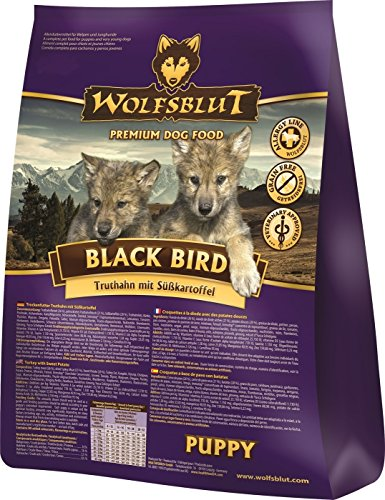 WOLFSBLUT Black Bird Puppy, 15kg