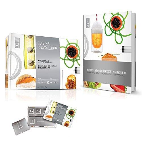 Kit De Cocina Molecular Molecule-R Más Libro De Recetas