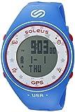 Soleus GPS One Quartz Plastic Fitness Watch Color Blue Model SG011-415