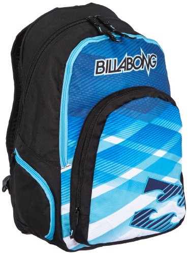 Billabong Mission - Mochila escolar, color azul - Talla única