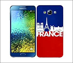Galaxy Printed 2835 Skyline Series 2 FranceskyHard Cover for Samsung CORE 2