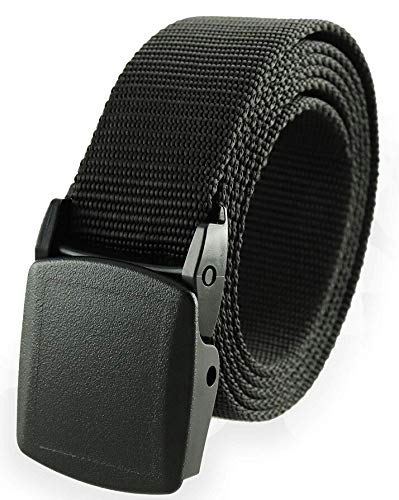 Skytouch Nylon Belt Canvas Breathable Military Tactical Men Waist Belt With Plastic Buckle