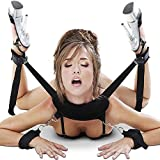 Cksohot® Manette Bondage SM BDSM Sesso Sex toys per Maschi e Femmine(Nero) immagine
