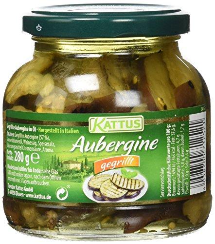 Kattus Gegrillte Aubergine, 3er Pack (3 x 280 g)