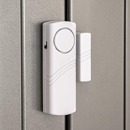 kwmobile Türen – und Fenster Alarm – 4er Set akustischer Einbruchschutz inkl. Batterien – drahtlose Alarmanlage – 100dB Lautstärke – Home Security - 4