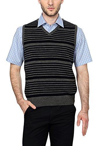 Peter England Regular Fit Sweater _ Psw51500622_s_ Grey