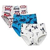 Best Toddler Boy Underwear - Color Culture Boy's Briefs Comfortable Cotton Short Toddler Review