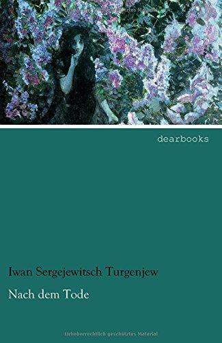 Nach dem Tode: Zweisprachige Ausgabe