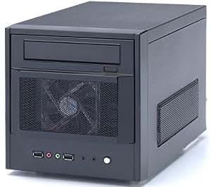 Boitier PC Mini-ITX EZ-PLUG noir + alimentation 220 W (ST-A9849.BG)
