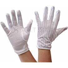 4STRON Antistatic (ESD) Safe Dotted Gloves (Pack of 10 Pair) at amazon