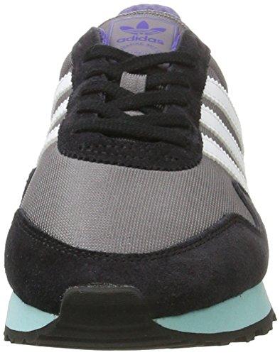 adidas Herren Haven Sneaker Grau (Trace Grey/Ftwr White/Clear Aqua)