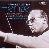 Hans Werner Henze : Symphonies n° 1 à n° 6