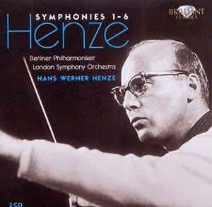 Henze: Symphonies No. 1-6