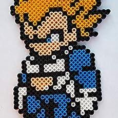 Porte Clés Pokemon Pokeball Pixel Art Perler Beads Perles à