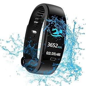 WitMoving Fitness Trackers IP68 - Reloj de Pulsera de Actividad con Contador de calorías y Pasos, podómetro, para niños… 11
