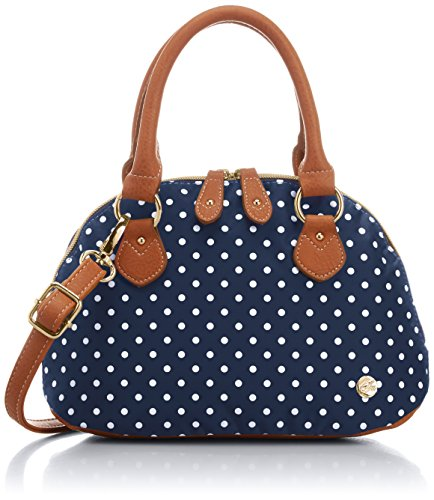 SAC [Sack] Polka Dots Mini Shoulder S40200 Nv (Navy) Jp F/S