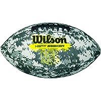 Wilson Heat Seeker - Balón de fútbol americano para niños, color marrón, talla única