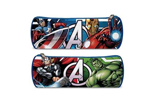 Avengers – Avengers – Estuche portatodo de 22 cm (Kids Euroswan KD-AV16107) (Kids Euroswan AV16107)