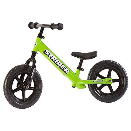 STRIDER 12 Classic Bicicletta per Bambini, 18 Mesi - 5 Anni, Verde