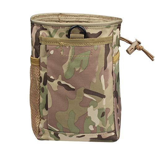 Unbekannt Military Molle Gürtel Tactical Paintball Magazine Mag Dump Ammo Pouch Utility Bag (CP) -