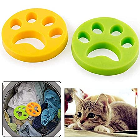 Lapeno 2X Tierhaarentferner Haustier Haarentferner Flusensiebe für Waschmaschine Haarfänger Haarentfernung Wiederverwendbar, für Hundehaar, Katzenfell, alle Haustiere