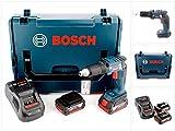 Bosch GSR 18 V-EC TE Professional Akku Trockenbohrschrauber mit L-Boxx, Schnellladegerät und 2x GBA 6 Ah Akku