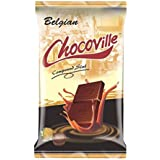 Chocoville Compound Chocolate Slab (Belgian), 500Gm