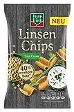 funny-frisch Linsen Chips Sour Cream, 12er Pack (12 x 90 g)