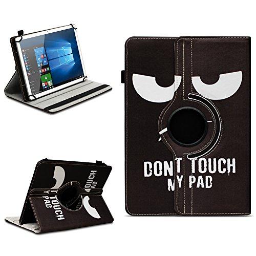 Xido Z120 Z110 X111 X110 Tablet Tasche Schutzhülle hochwertiges Kunstleder Hülle Standfunktion 360° Drehbar Cover Universal Case, Farben:Motiv 5