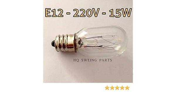 Kühlschrank Licht 15w : Nähmaschine licht bulb e v w für kühlschrank
