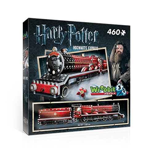 """Wrebbit 3D Puzzle - Puzle con diseño del tren """"Expreso de Hogwarts"""" de la película """"Harry Potter"""""""