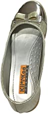 """Kii """"&"""" Kaa Girls Glossy Slip-On Fancy Ballerian Ballie (Size: 11C-5 for Age Group 4 to 8 Years)"""