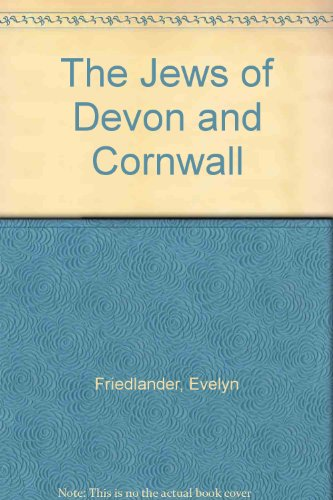 The Jews of Devon and Cornwall