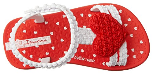 Ipanema My First Baby, Sandales Bébé Fille Rouge (Red/White)