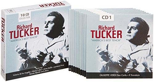 America's Best Tenor-Verdi Puccini Bizet etc. [Import allemand]
