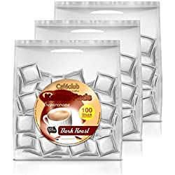 Kaffeepads Caféclub Megabeutel Dark Roast 300 Pads