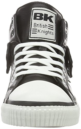 British Knights Roco, Baskets hautes homme Schwarz (Black 11)