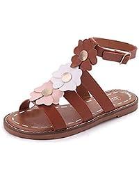 Hunpta Damen Sommer Sandalen Schuhe Peep-Toe Low Schuhe Römische Sandalen  Damen Flip Flops 1187a66875
