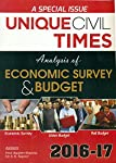 Analysis of Economic Survey and Budget This Book by authors Prof. Sanjeev Sharma and Dr. S.K. Kapoor is a comprehensive text covering Budget and Economic survey 2016-17, with well explained date, graphs and tables to provide a lucid and student frien...