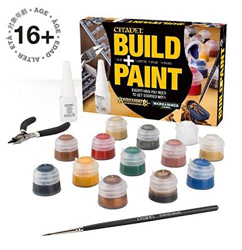 Citadel Warhammer Citadel Build   Paint Set