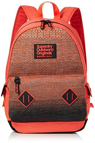 Superdry - Knittermontana, Mochilas Hombre, Naranja (Orange), 30x45x15 cm (W x H L)