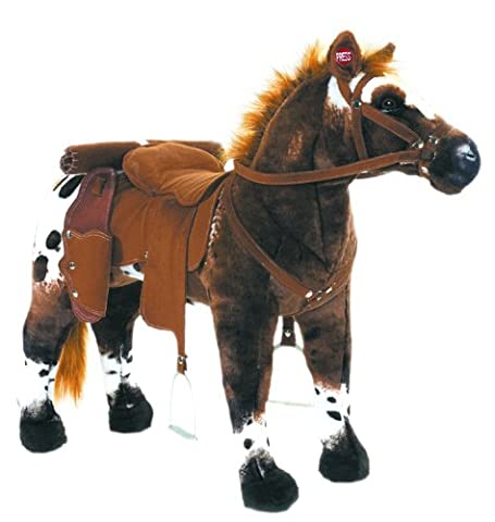 "Happy People - 58937 - Cheval de Cowboy Anglo Arabe"" - Son Inclus - Peut Supporter Jusqu"