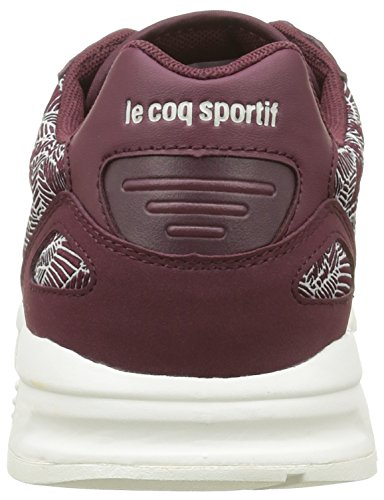 Le Coq Sportif Damen Lcs R900 Foliage Sneakers Rot (Port Royale/Gray MorPort Royale/Gray Mor)