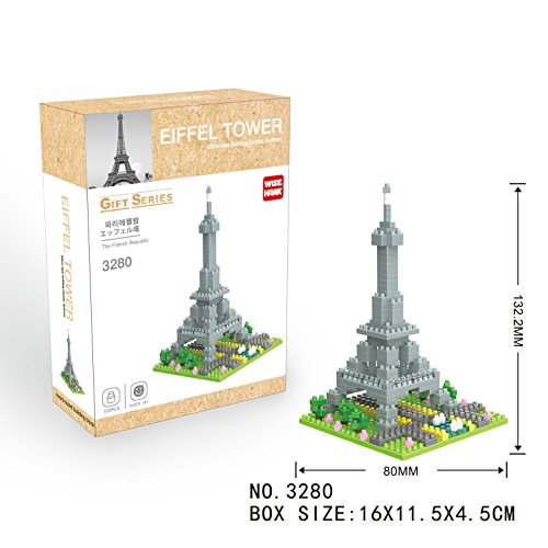 WH3280 TORRE EIFFEL Gift Series WISE HAWK