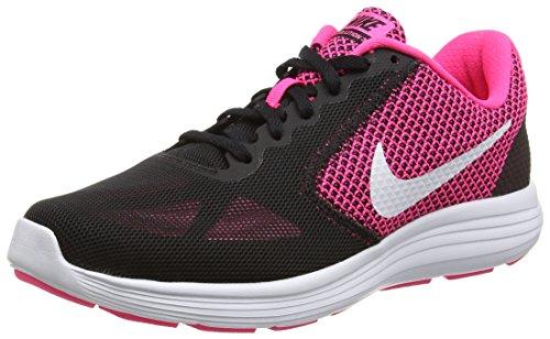 nike-damen-revolution-3-laufschuhe-schwarz-hyper-pink-white-black-40-eu